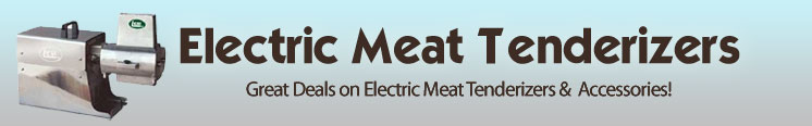 electric meat tenderizers